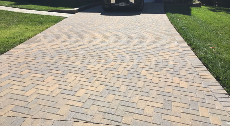 Brick Or Paver Driveway Installation