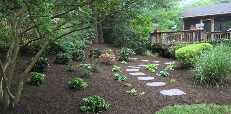 Softscaping Landscape Ideas